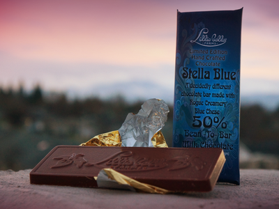 Rogue Creamery Blue Cheese Chocolate Bar