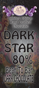 Dark Star - 80% Bean to Bar Dark Chocolate