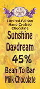 Sunshine Daydream - 45% Bean to Bar Milk Chocolate