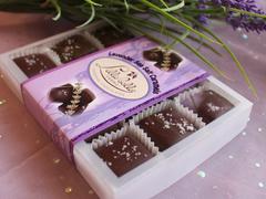 Lavender Fleur du Sel Caramels