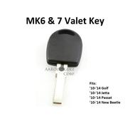 VW MK6 and 7 Valet Key - Waterproof!