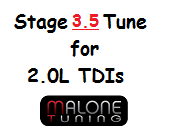 Malone CR TDI - Stage 3.5 Tune - Golf/Jetta/New Beetle (Malone-2.0L-Stage3.5)