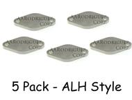 Mechanic's Supplies - ALH Style Block off Plates - 5ct (alh-egr-blk-5ct)