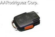 SQUARE KEY FOB 3 BUTTONS CONTROL WITH PANIC for VW