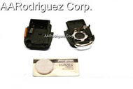 SQUARE KEY FOB & Battery - 3 BUTTONS CONTROL WITH PANIC for VW