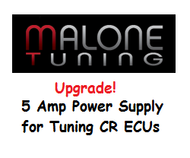 Upgraded Power Supply for Tuning CR ECU