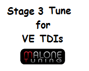 Malone Stage 3 Tune for VE TDIs