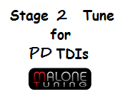 Malone Stage 2 Tune for PD TDI Engines