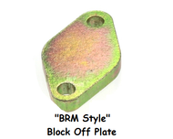 Block off plate for BRM and CR EGR Coolers (BRM-block-plate)
