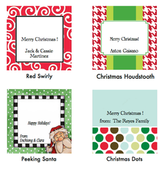 Christmas Gift Tags - Square