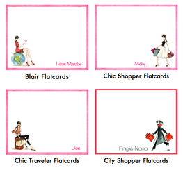 Fashion Flatcards