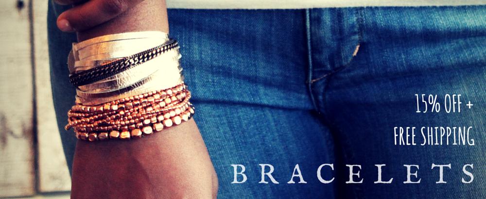 Bracelet 15% OFF 8/15