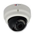 ACTi D65 3MP Varifocal Day/Night IR Indoor Dome Network Camera