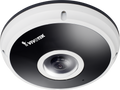 Vivotek FE8181V 5MP 360° Surround View IR Fisheye Fixed Dome Network Camera