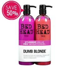 TIGI Bedhead Dumbe Blonde Tween Duo I Beautyfeatures.ie
