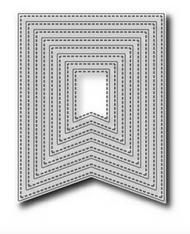 Tutti Designs Nesting Stitched Banners Die