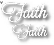 Tutti Designs Word Set - Faith Die (Tutti-237)