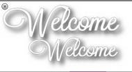 Tutti Designs Word Set - Welcome Die (Tutti-242)