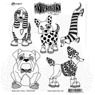 Dylusion's Cling Mount Stamps - Puppy Dog Tales (DYR55518)