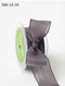 "May Arts - Soft Semi-Sheer Ribbon 1.5"" - Pewter"