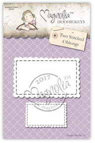 Magnolia Stamps DooHickey - Business 2017 - Two Stitched Oblongs