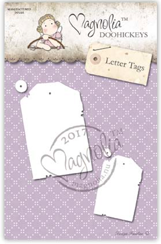 Magnolia Stamps DooHickey - Business 2017 - Letter Tag