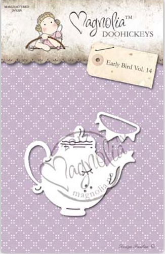 Magnolia Stamps DooHickey - Early Bird #14 - Miss Pots