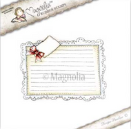 Magnolia Stamps RECIPE CARD Cling Rubber Stamp