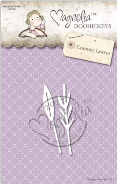 Magnolia Stamps DooHickey - Country Girl 2017 - Country Leaves