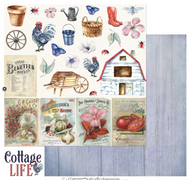 49 and Market - Cottage Life - Cottage Cut Outs 12 x 12