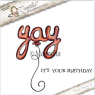 Magnolia Stamps Yay It's Your Birthday 2017 - Yay Balloon Kit