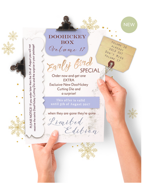 Magnolia Stamp DooHickey Club Vol. 17 Limited Edition - Winter/Christmas