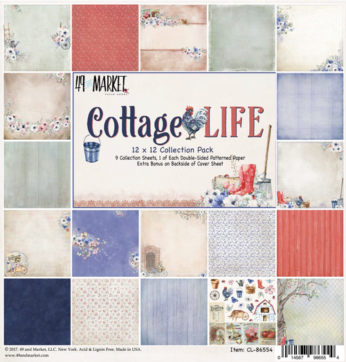 49 and Market - Cottage Life Collection 12 x 12