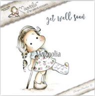Magnolia Stamps - Get Well - Tilda With Broken Leg/Text