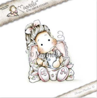 Magnolia Stamps - Get Well - Tilda With Bunny Slippers