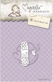 Magnolia DooHickey - Get Well - Heart Band Aid