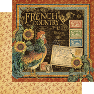 Graphic 45 FRENCH COUNTRY 12 X 12 - FRENCH COUNTRY