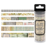 Tim Holtz Idea-Ology Design Tape 6/Pkg Collector