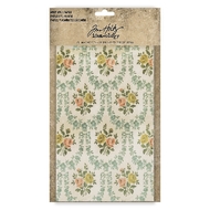 "Tim Holtz Idea-Ology Worn Wallpaper 5""X8"" 24/Pkg"