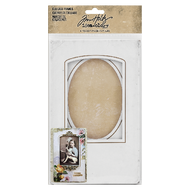 Tim Holtz Idea-Ology Bookboard Collage Frames 4/Pkg