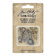 Tim Holtz Idea-Ology Metal Adornments Milagros