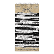 Tim Holtz Idea-Ology Spiral Bound Sticker Book - Snarky