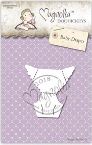 Magnolia DooHickey - You Are Invited - Baby Diaper