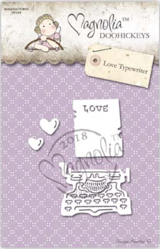 Magnolia DooHickey - You Are Invited - Love Typewriter