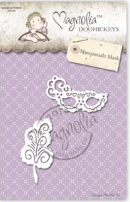 Magnolia DooHickey - You Are Invited - Masquerade Mask