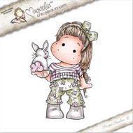 Magnolia Stamps Sunbeam - Tilda With Little Bunny