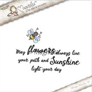 Magnolia Stamps Sunbeam - Bumble Bee and May Flowers