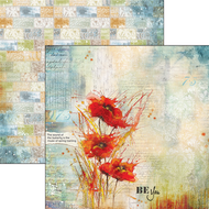 Ciao Bella - The Sound Of Spring - 12 x 12 Sheet Poppies Dance