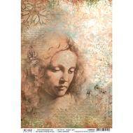 Ciao Bella - Codex Leonardo - Rice Paper - L'amore è un soffio leggero