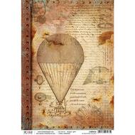 Ciao Bella - Codex Leonardo - Rice Paper - Le macchine volanti